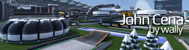 ESWC 2015 - Trackmania² Stadium Mappack JohnCena