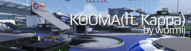 ESWC 2015 - Trackmania² Stadium Mappack KOOMA
